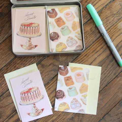 sweet treats petite notecard set