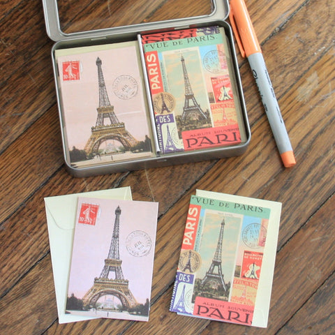 paris petite notecard set