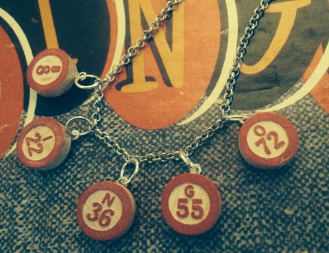 bingo bracelet or necklace
