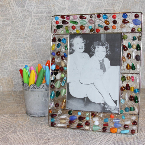 mixed beaded wire frames