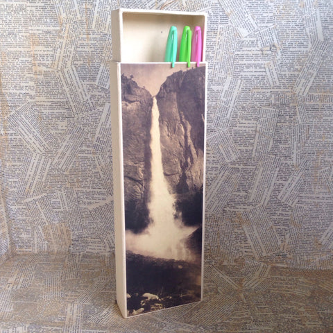 waterfall paper box