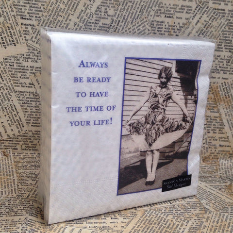 beverage napkins: always be ready