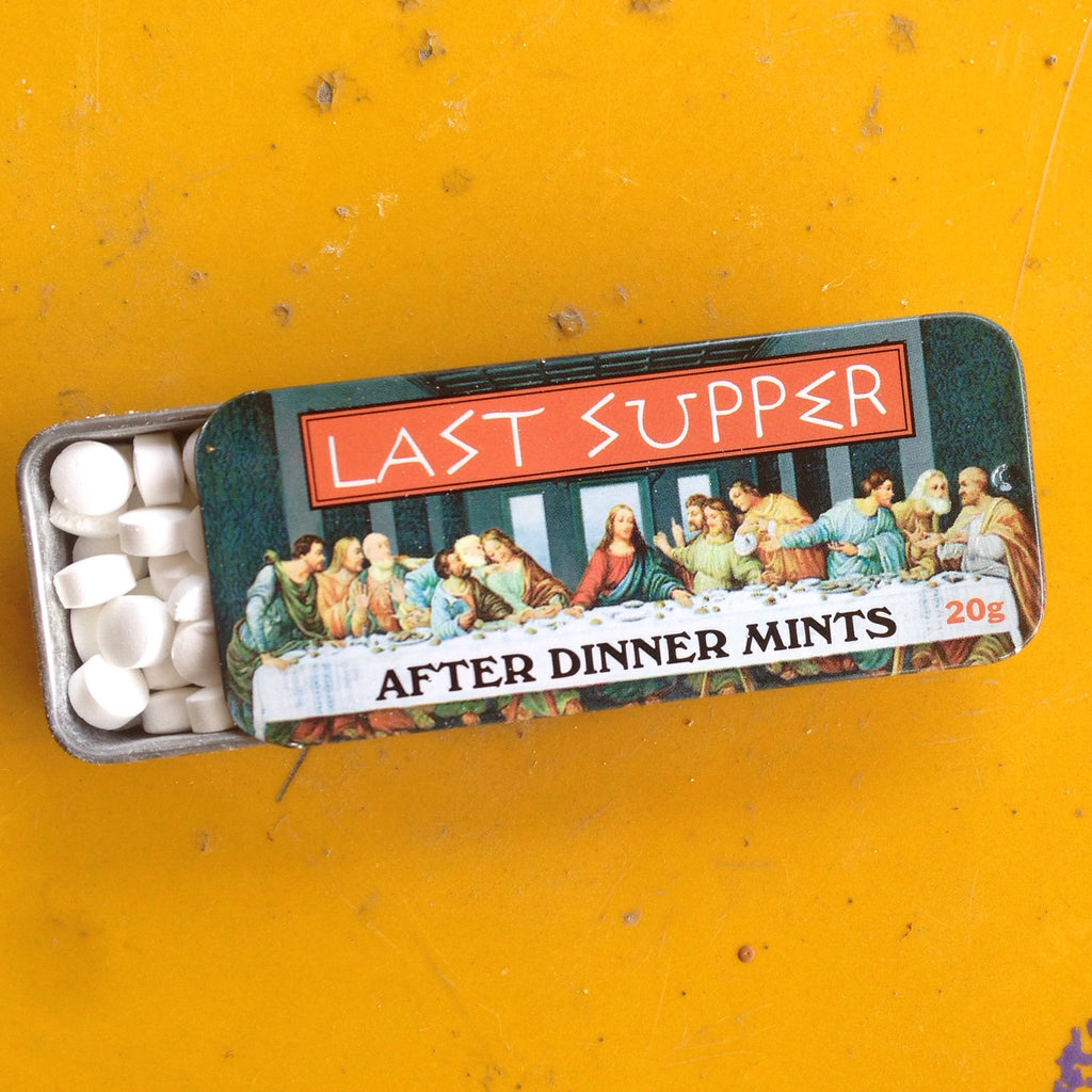 last supper after-dinner mints