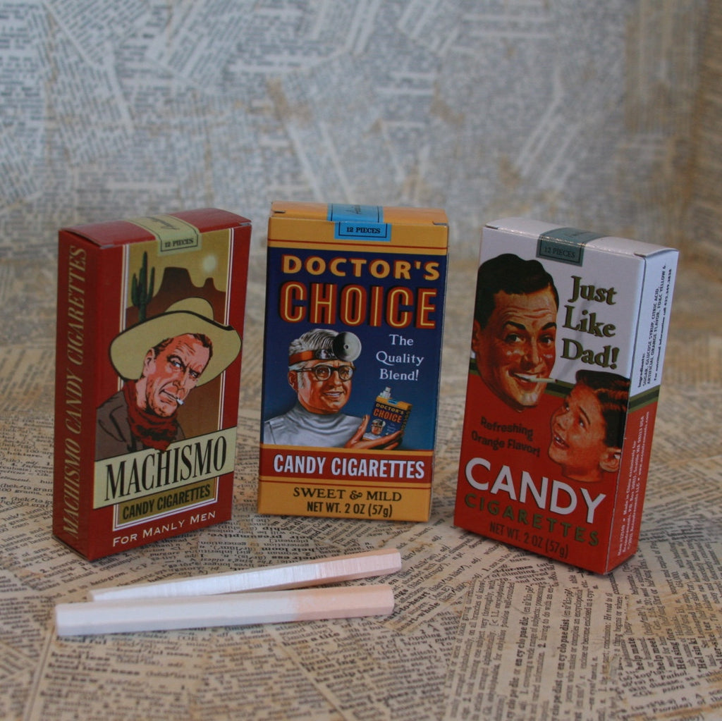 candy cigarettes: assorted pack of 3