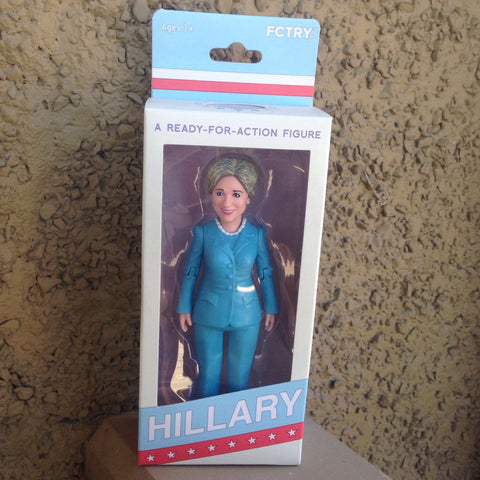 hillary clinton ready-for-action figure