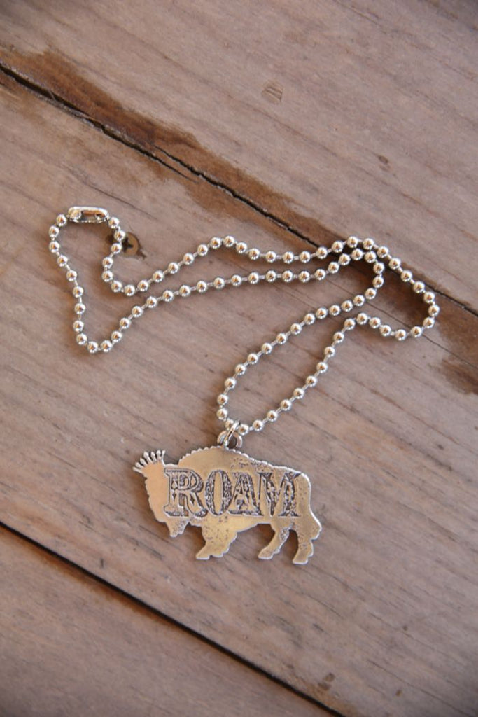 Buffalo ROAM necklace