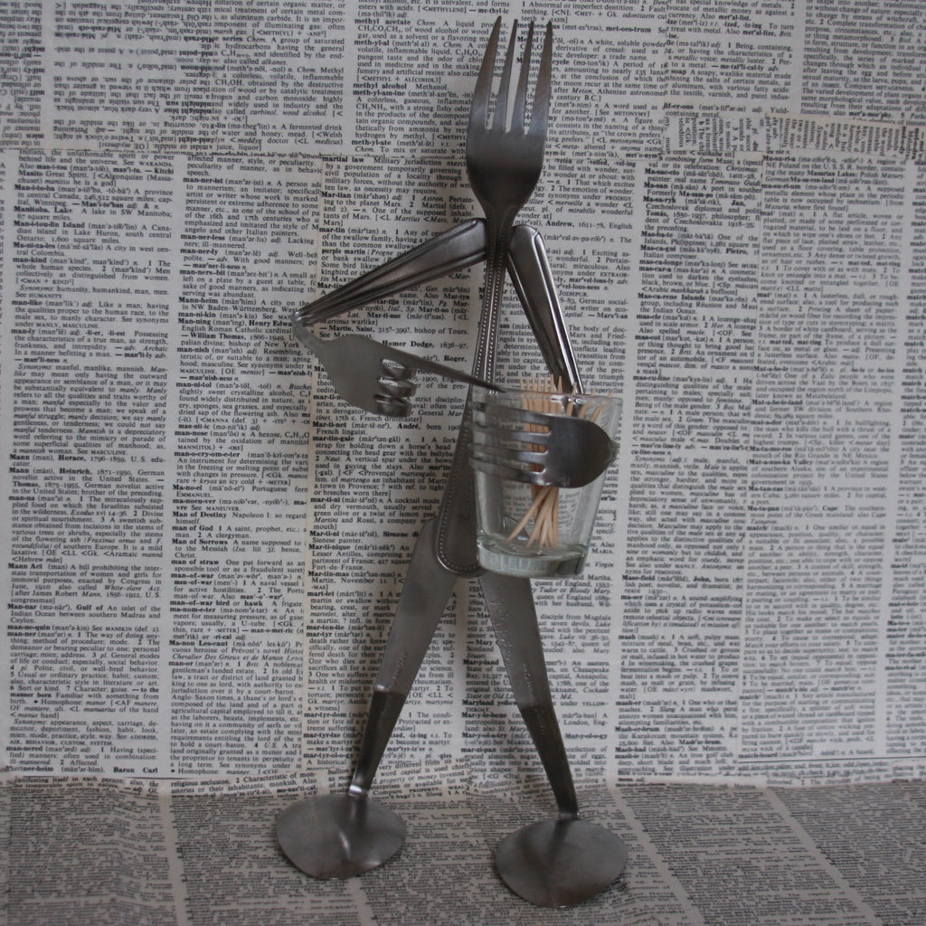 fork toothpick holder