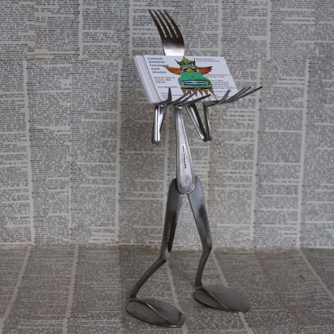 fork card holder
