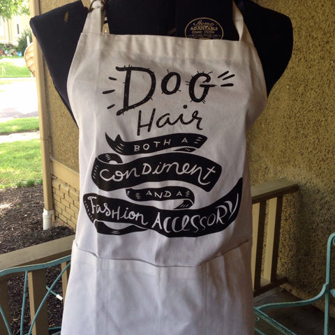 dog hair apron