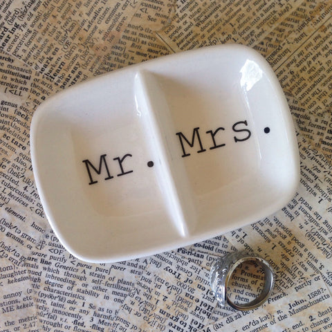 mr. and mrs. ring holder