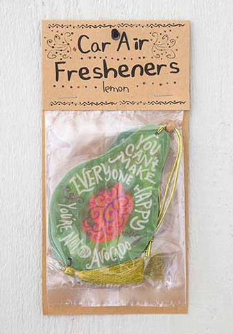 Air Fresheners-Avocado (set of 2)
