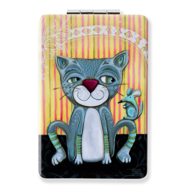 Mouser Cat Compact Mirror