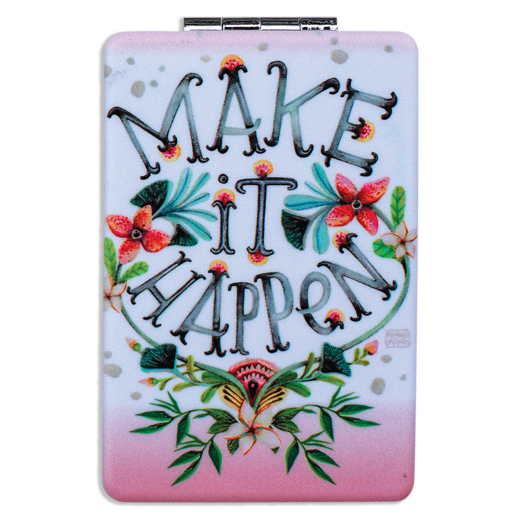 Make It Happen Compact Mirror