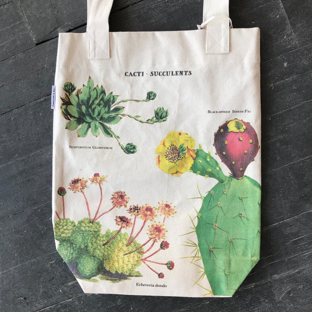 Succulents & Cacti Tote Bag