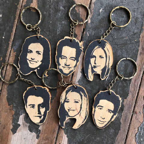 Friends Keychains