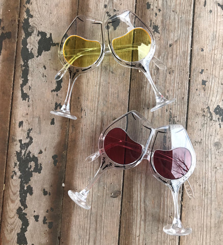 wine glass party sunglasses
