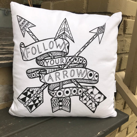 coloring pillows