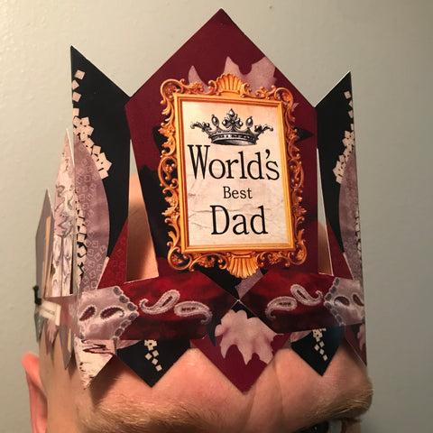paper crowns for dad