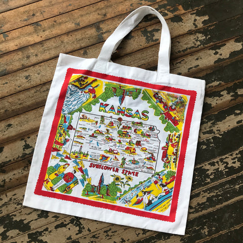 kansas market tote bag