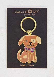 Key Chain - Dog Enamel