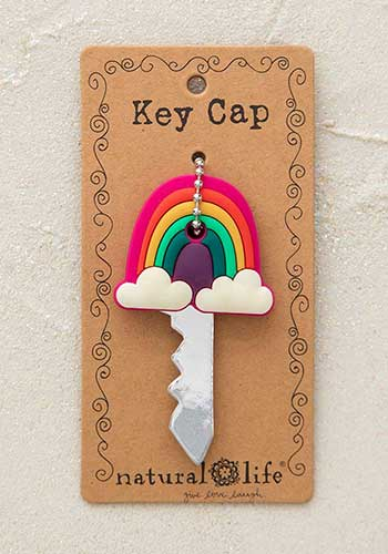 Key Cap - Rainbow Follow Your Dreams