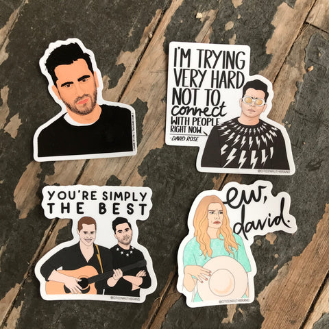 Schitt's Creek Stickers