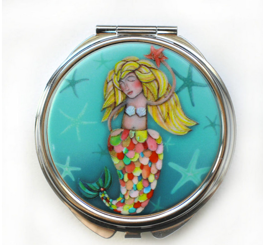 Mermaid Trinket/Pill Box