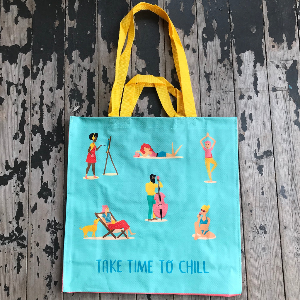 Time to Chill Tote Bag