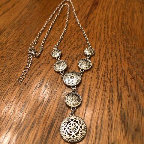 Seven medallion necklace