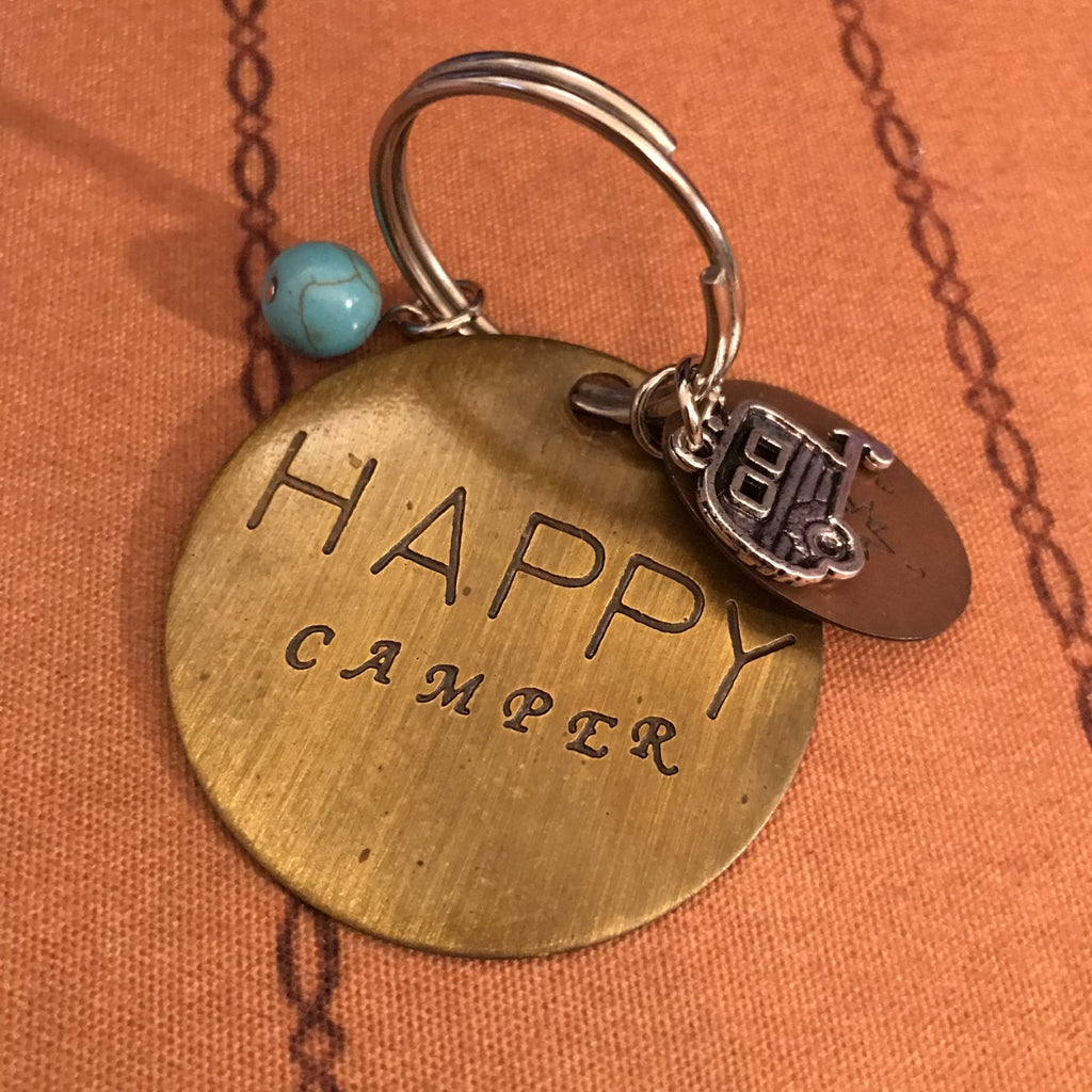 Brass Key Chain w/ Great Sayings!