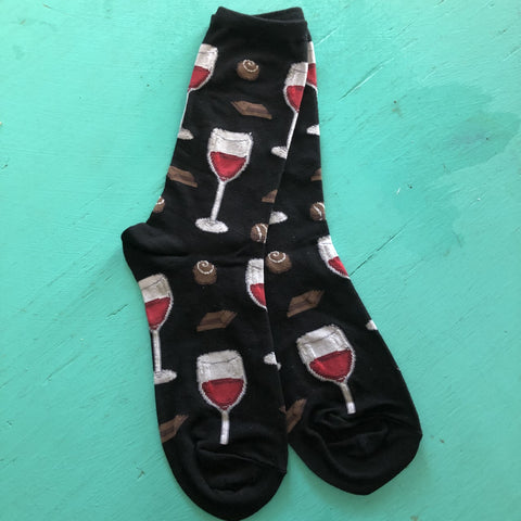 Time to Wine Down Socks