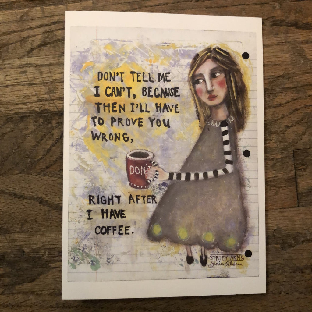 Card - Coffee