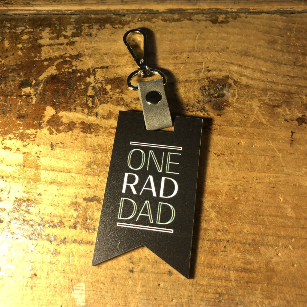 One Rad Dad keychain