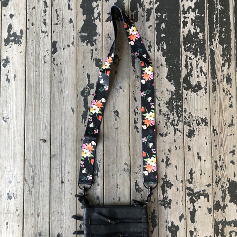 Swap Strap - Flowers, Stripes & Feathers!