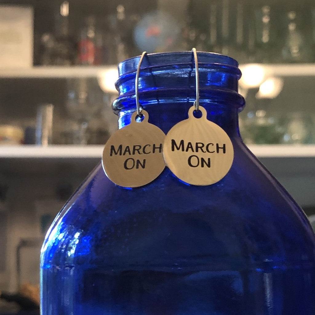 MARCH ON Earrings