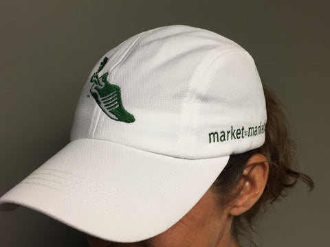 White Race Hat