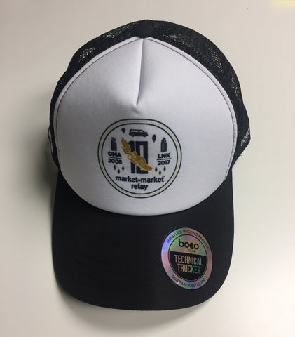 10 Year Market to Market Relay BOCO Technical Trucker Hat