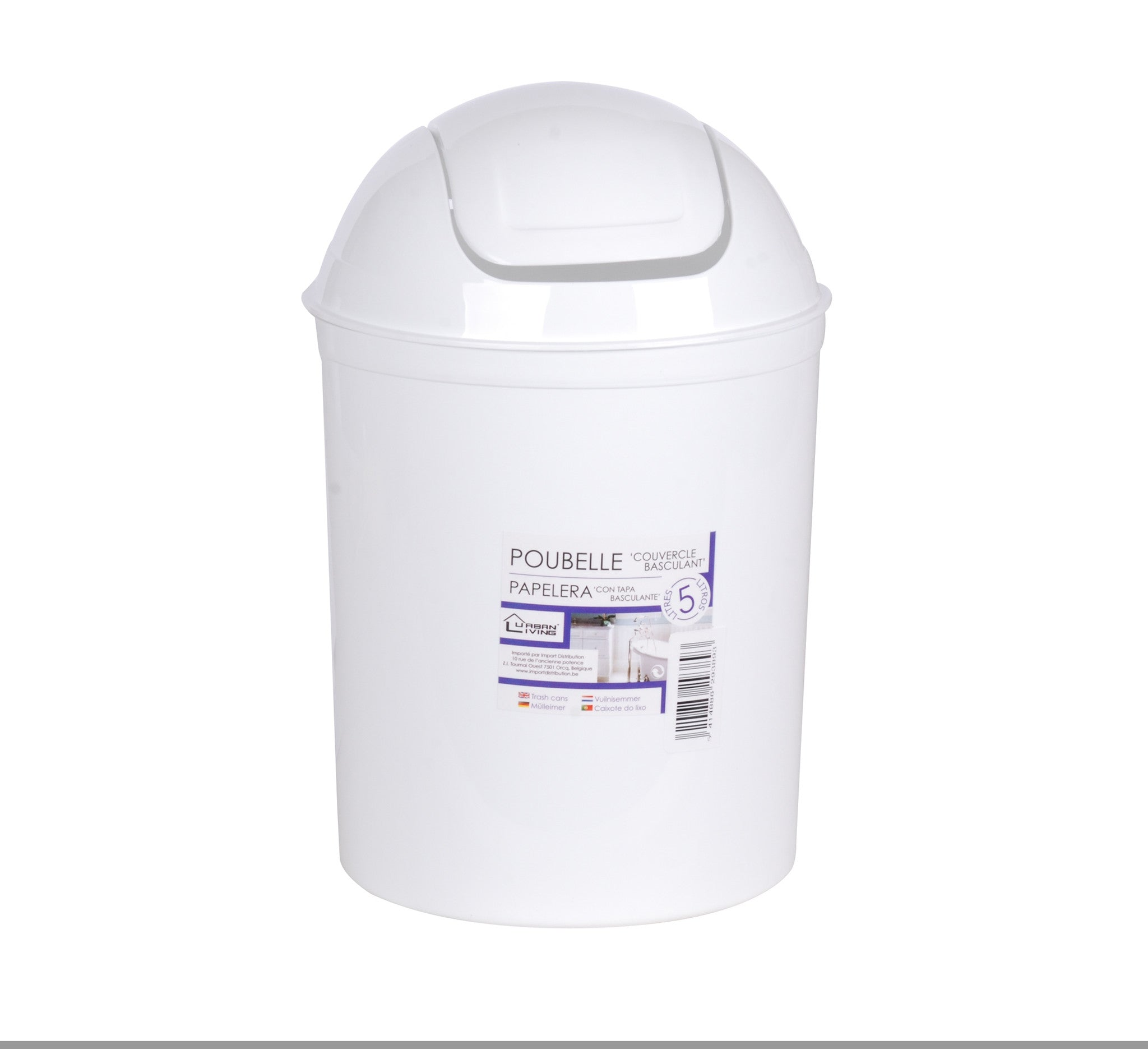 White Kitchen Bin buy kitchen bins online | only £5 - onlyfivepounds