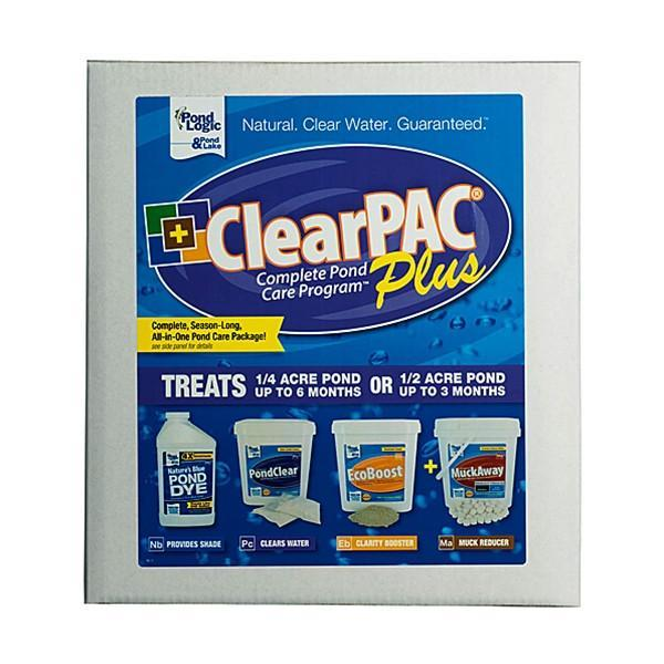 Airmax Water Treatments ClearPAC Plus MuckAway w/o Algae Defense Airmax ClearPAC Plus MuckAway