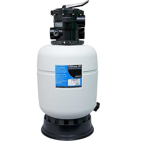 "Aqua Filtration Filter - 2,000 with 1-1/2"" Valve Aqua UV Filtration Systems (1000 & 2000)"