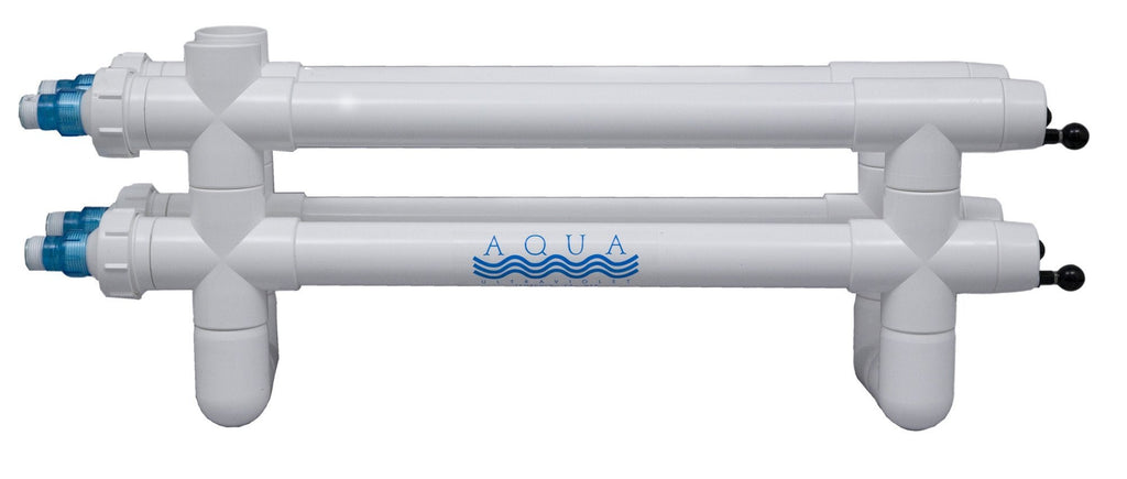 Aqua UV Clarifiers/Sterilizers 160W - 2 inch Wiper Aqua UV Classic Series with Wiper