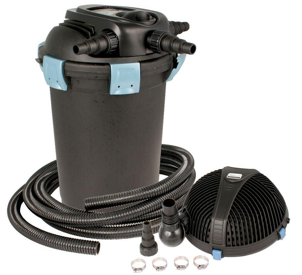 Aquascape Filtration 3500 Filtration Kit (3500 Pressure Filter & AquaForce 5200) Aquascape UltraKlean Filtration Kit
