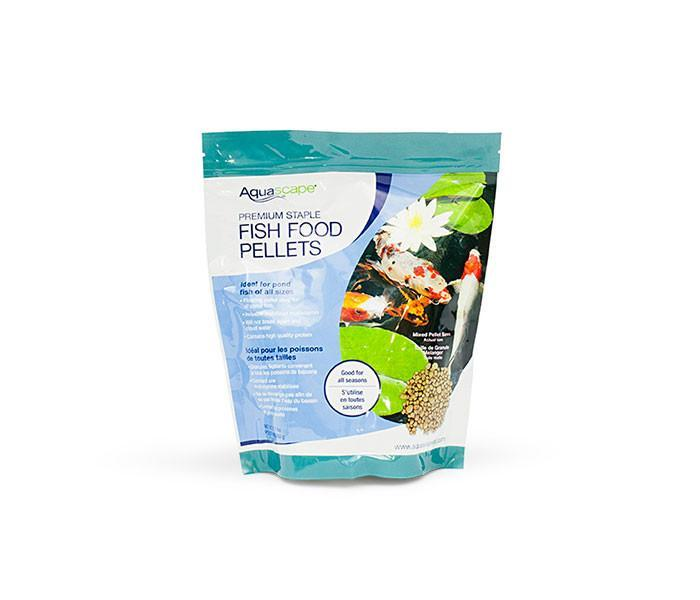 Aquascape Fish Food Pellets - 500g Aquascape Premium Staple Fish Food Mixed Pellets