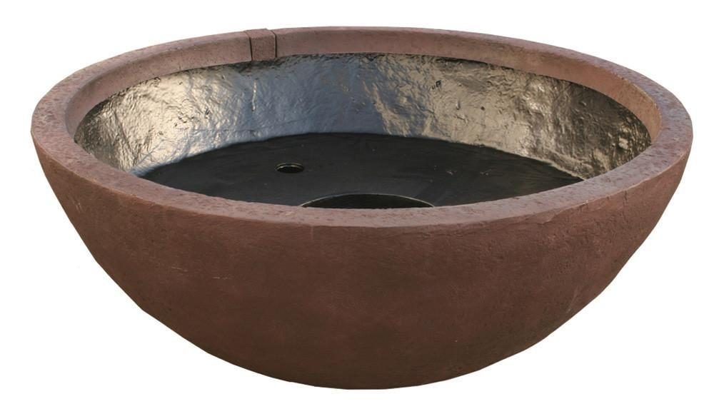 Aquascape Fountains & Pond Decor European Terra Cotta 24 Inch Aquascape Patio Pond - Small & Medium