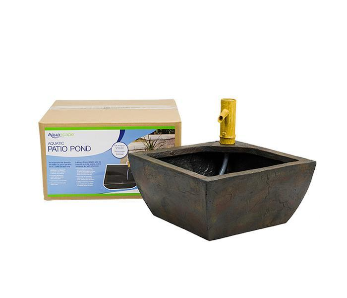 Aquascape Pond Kits Aquascape Aquatic Patio Pond Kit