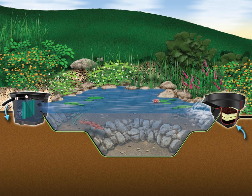 Aquascape Pond Kits 4 Ft x 6 Ft (250 Gal.) Aquascape MicroPond Kits