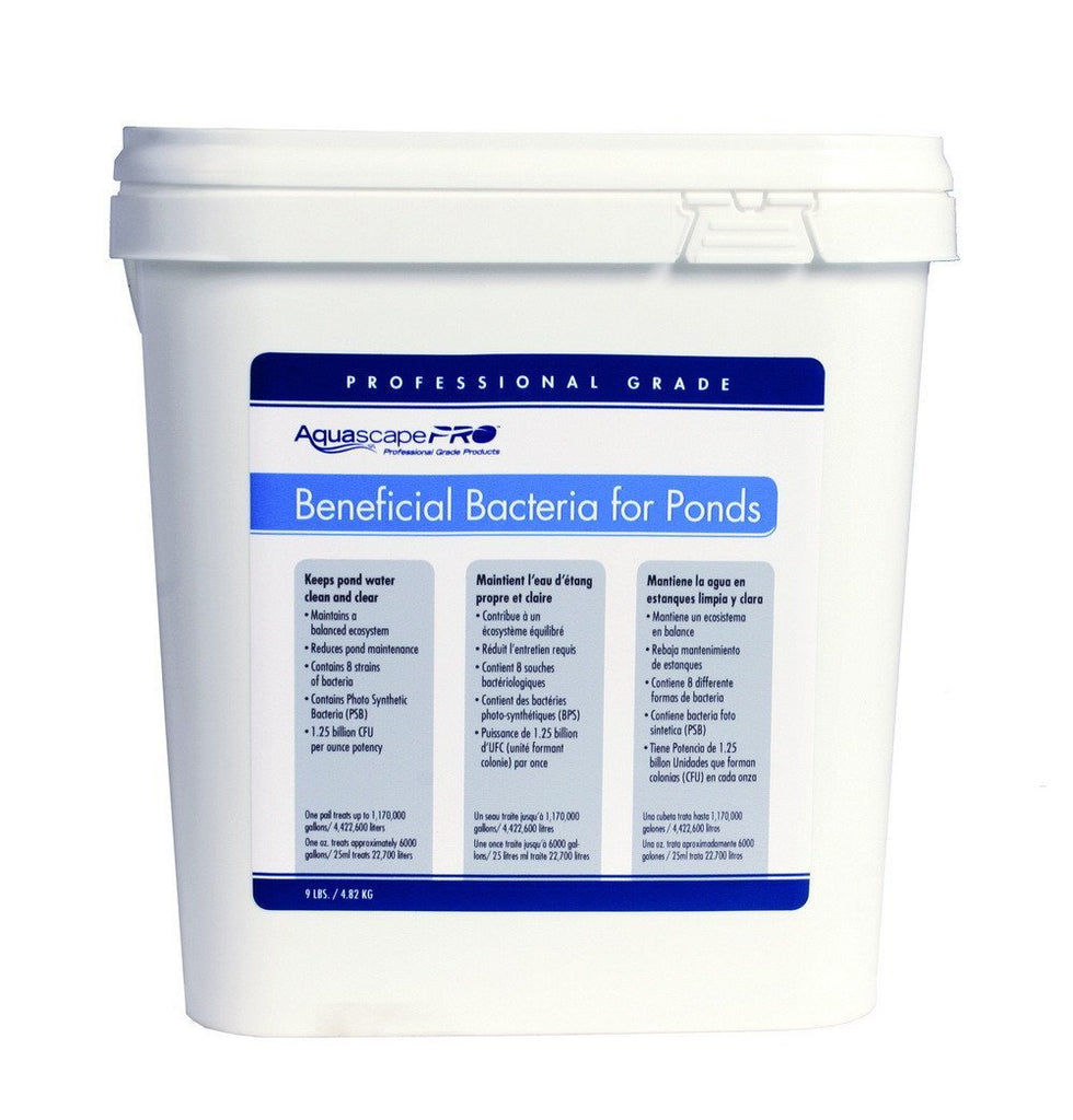 Aquascape Water Treatments AquascapePRO Beneficial Bacteria - 9 lb Aquascape Beneficial Bacteria for Ponds/Dry