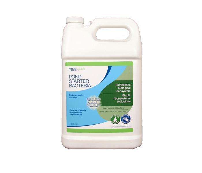 Aquascape Water Treatments Pond Starter Bacteria - 3.78ltr/1 gal Aquascape Pond Starter Bacteria/Liquid