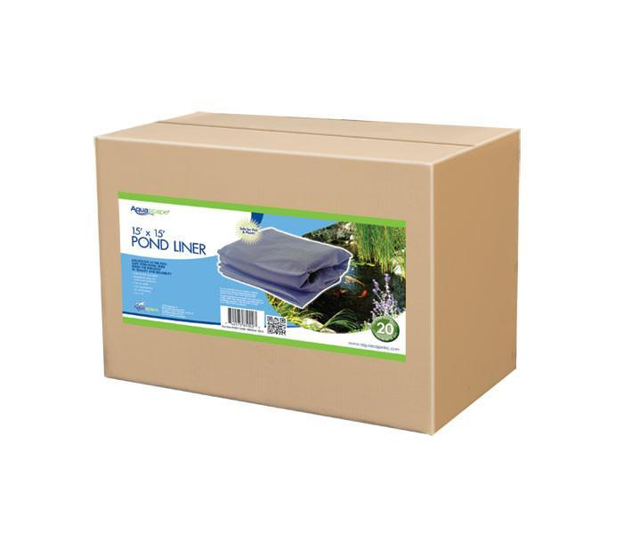 AquascapePRO Installation Tools Boxed Liner 15 Ft x 15 Ft AquascapePRO Boxed Liner