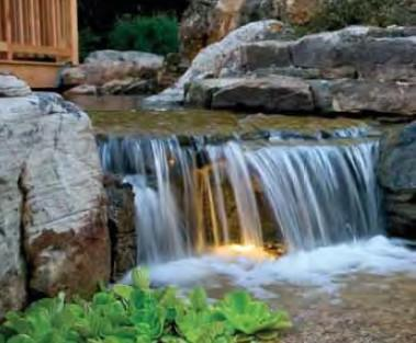 AquascapePRO Pond Kits Small - 6' Stream w/ AquaSurgePRO 2000-4000 Pump AquascapePRO Pondless Waterfall Kit